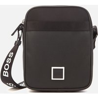 BOSS Mens Pixel Zip Messenger Bag - Black