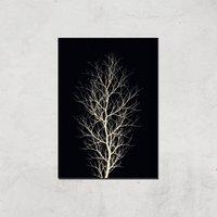 Kubistika The Tree Giclee Art Print - A4 - Print Only
