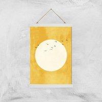 Kubistika Eternal Sunshine Giclee Art Print - A3 - White Hanger