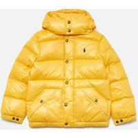 Polo Ralph Lauren Boys' Padded Jacket - Yellow - 8 Years