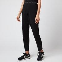 Calvin Klein Women's Logo Sleep Pants - Black - L