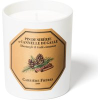 Carriere Freres Scented Candle Siberian fir & Galle Cinnamon - 185 g