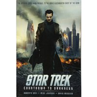 Star Trek Graphic Novels Countdown To Darkness Poster