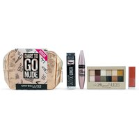 Maybelline Makeup Dare To Go Nude Gift Set for Her (Worth £40.00)