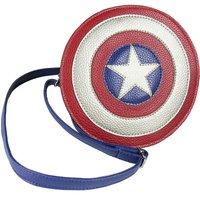 Marvel Avengers Captain America Shield Faux Leather Shoulder Bag