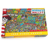Where's Wally The Wild Wild West Jigsaw Puzzle (1000 Pieces)