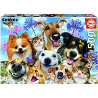 Fun in the Sun Selfie Jigsaw Puzzle (500 Pieces)