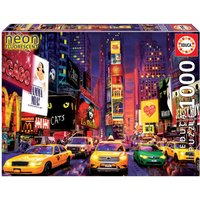Neon Times Square Jigsaw Puzzle (1000 Pieces)