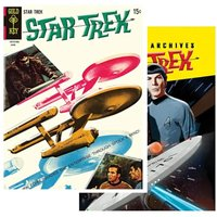 Star Trek Graphic Novels Tin Plates Set of 2
