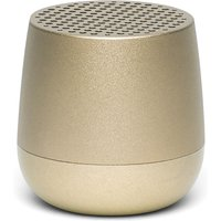 Lexon MINO + Bluetooth Speaker - Light Gold