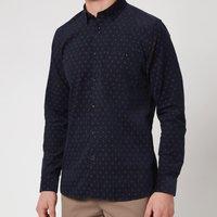 Ted Baker Mens Spoonie Printed Shirt - Navy - XL/5