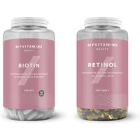 Retinol & Biotin Bundle - 90Tablets