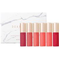 Dear Dahlia Paradise Dream Mini Velvet Lip Mousse 6 Set - Pink Collection