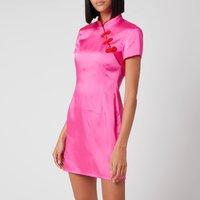 De La Vali Women's Suki Dress - Hot Pink - UK 10