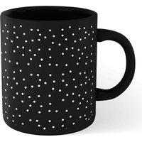Polka Dots Mug - Black