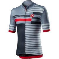 Castelli Mid Weight Pro Jersey - S - Vortex Grey