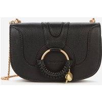 shop for See by Chloé Women's Hana Chain Shoulder Bag - Black at Shopo