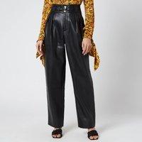 Simon Miller Women's Barr Sack Waist Trousers - Black - L