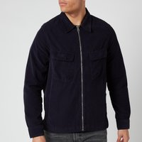 PS Paul Smith Men's Zipped Overshirt - Dark Navy - M