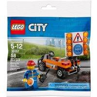 LEGO City: Road Worker Mini Figure (30357)