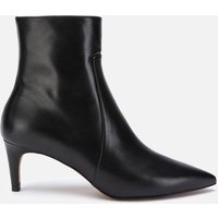 Whistles Women's Celia Leather Kitten Heeled Boots - Black - UK 3