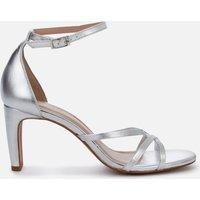 Whistles Women's Hallie Strappy Heeled Sandals - Silver - UK 8