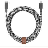 Native Union Belt Cable 3m - USB C - Lightning - Zebra