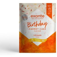 Vegan Meal Replacement Box of 7 Carrot Cake Shake