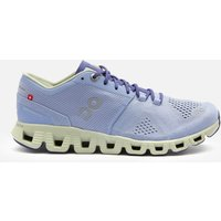 ON Women's Cloud X Running Trainers - Lavender/Ice - UK 7