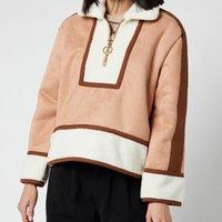 L.F Markey Womens Griffin Coat - Fawn - M-L
