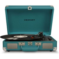 Cruiser Deluxe Portable Turntable (Teal)