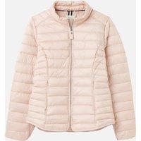 Joules Women's Canterbury Padded Jacket - Metallic Pink - UK 8