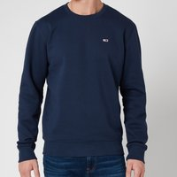 Tommy Jeans Men's Regular Fleece Crewneck Sweatshirt - Twilight Navy - S