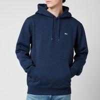 Tommy Jeans Men's Regular Fleece Hoodie - Twilight Navy - XL