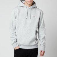 Tommy Jeans Men's Regular Fleece Hoodie - Light Grey Heather - XL