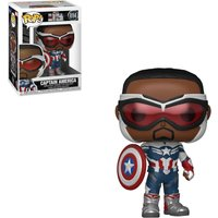 Marvel The Falcon and the Winter Soldier Captain America Funko Pop! Vinyl