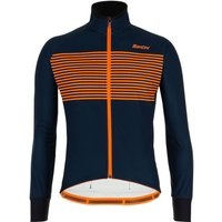 Santini Colore Jacket - L - Nautica Blue