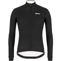 Santini Colore Long Sleeve Jersey - XXL - Black