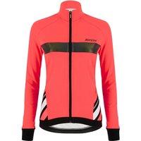 Santini Women's Coral Raggio Jacket - S - Granatina Orange