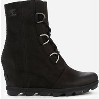 Sorel Women's Joan of Arctic II Waterproof Leather Wedged Boots - Black - UK 4