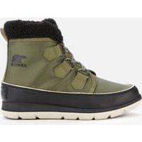 Sorel Women's Explorer Carnival Waterproof Boots - Hiker Green/Black - UK 4