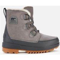 Sorel Womens Torino II Waterproof Suede Shell Boots - Quarry - UK 3