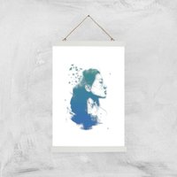 Open Your Mind To Blue Dreams Giclee Art Print - A3 - White Hanger