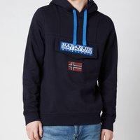 Napapijri Men's Burgee Win Hoodie - Blu Marine - S