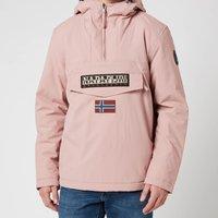 Napapijri Men's Rainforest Winter 2 Hooded Anorak Jacket - Woodrose Pink - M