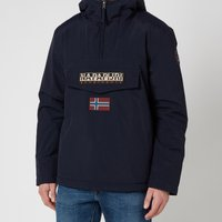 Napapijri Men's Rainforest Winter 2 Hooded Anorak Jacket - Blu Marine - M