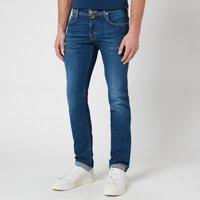 Jacob Cohen Men's J622 Brown Badge Limited Edition Jeans - Blue - W32