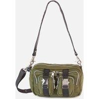 shop for Núnoo Women's Ellie Scuba Cross Body Bag - Green at Shopo