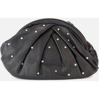 shop for Núnoo Women's Saki with Diamonds Clutch - Black at Shopo