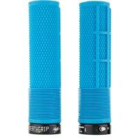 DMR Deathgrip Flangeless Handlebar Grip - Thick - 31.3mm - Blue